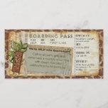 "Safari Boarding Pass 2<br><div class=""desc"">A custom design for your Safari Themed Event</div>"