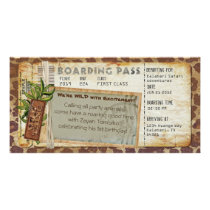 Safari Boarding Pass 2 Card