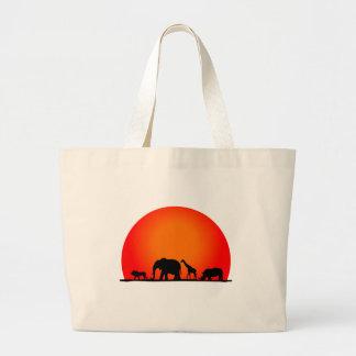 Safari Bolsa Tela Grande
