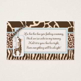 Safari Boy Gift Tag B