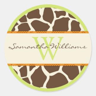 Safari Boy Green Sticker GIR