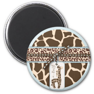 Safari Boy Magnet