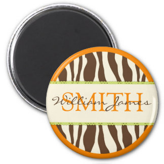 Safari Boy Orange Magnet 2B