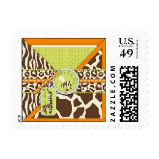 Safari Boy Orange Stamp B