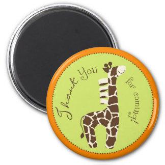 Safari Boy Orange TY Magnet B