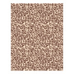 Safari Boy Scrapbook Paper Cheetah Letterhead