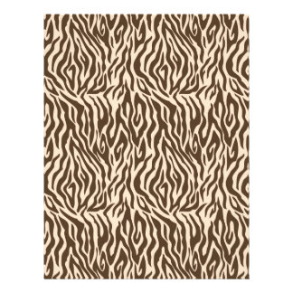 Safari Boy Scrapbook Paper Zebra