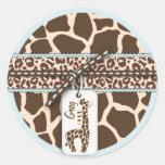 Safari Boy Sticker C