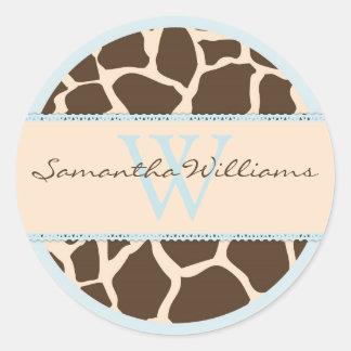 Safari Boy Sticker D GIR2