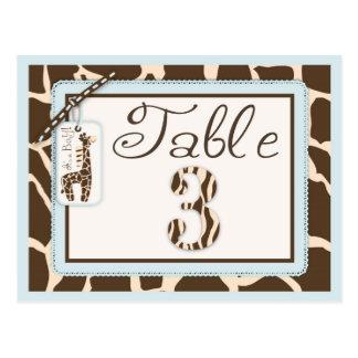 Safari Boy Table Postcard 3