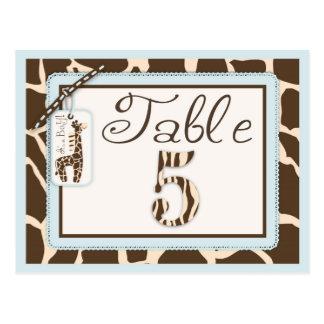 Safari Boy Table Postcard 5