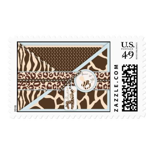Safari Boy TY Stamp