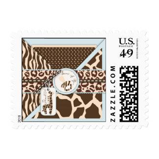 Safari Boy TY Stamp B