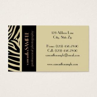 Safari Business Card
