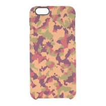 Safari Camouflage Clear iPhone 6/6S Case