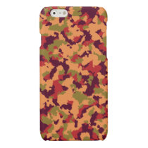 Safari Camouflage Glossy iPhone 6 Case