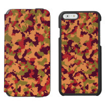 Safari Camouflage iPhone 6/6s Wallet Case