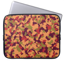 Safari Camouflage Laptop Computer Sleeves