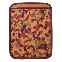 Safari Camouflage Sleeve For iPads