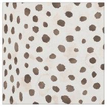 Safari chic neutral brown beige cheetah print fabric