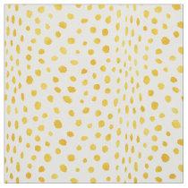 Safari chic watercolor gold cheetah print pattern fabric