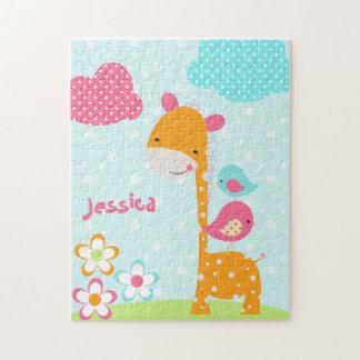 Safari Cuties Giraffe Jigsaw Puzzle
