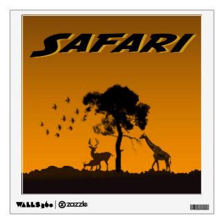 Safari de Serengeti Vinilo Decorativo