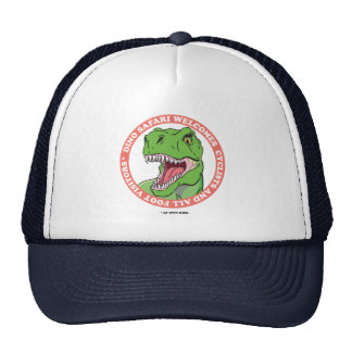 Safari del dinosaurio gorro
