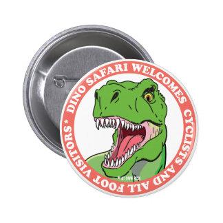 Safari del dinosaurio pin