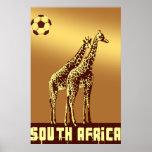 Safari del fútbol del mundo de Suráfrica de la pue Impresiones