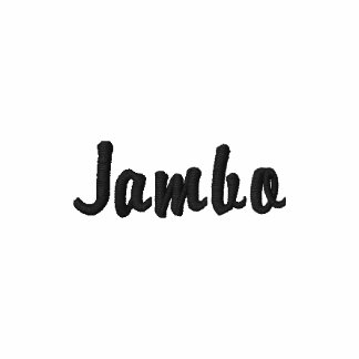 Safari designer Jambo clothing for men