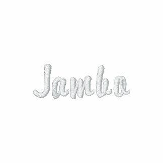 Safari designer Jambo clothing for men Polo Shirt