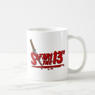 Safari el décimotercero tazas de café