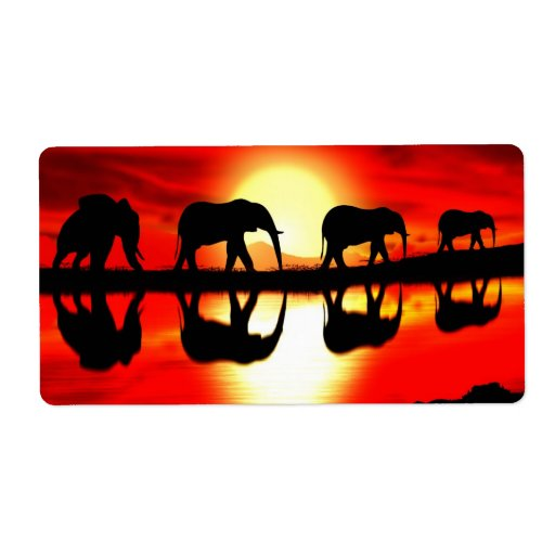 Safari Etiqueta De Envío
