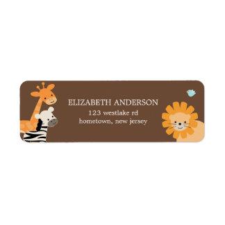 Safari Friends Address Labels