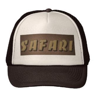 Safari gift trucker hat