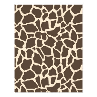 Safari Girl Dual-Sided Scrapbook Paper G Personalized Flyer