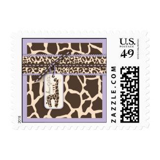 Safari Girl LAV Stamp C