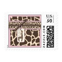 Safari Girl Stamp C