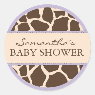 Safari Girl Sticker D