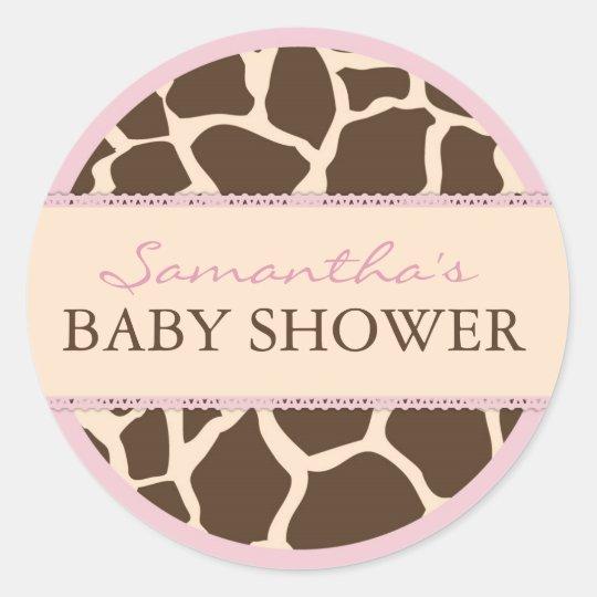 Safari Girl Sticker D2