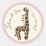 Safari Girl Sticker H