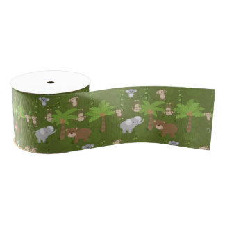 Safari Grosgrain Ribbon