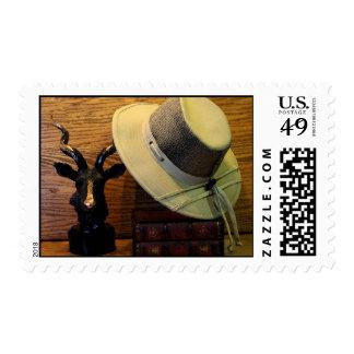 Safari Hat Rack Stamp