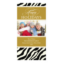 SAFARI HOLIDAY | HOLIDAY PHOTO CARD