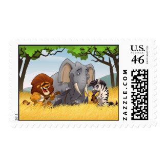 Safari Jug Band Stamps