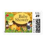 Safari Jungle Animal Neutral Baby Shower Postage