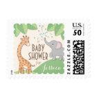 Safari Jungle Cute Baby Shower Postage