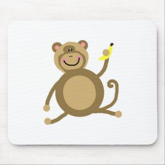 Safari Jungle Monkey Cute Adorable Chic Destiny Mousepads