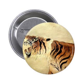 Safari Jungle Tiger Chic Destiny Button